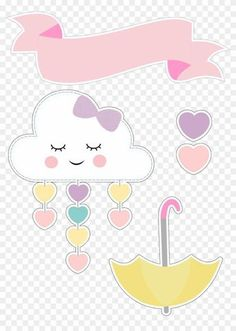 Patricia Selles's media content and analytics Diy Arts And Crafts, Crafts For Kids, Cloud Party, Love Png, Rainbow Theme, Baby Decor, Cute Wallpapers, Girl Birthday, Baby Shower