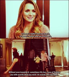 One Tree Hill, one of my favorite scenes
