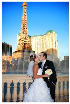 Las Vegas Wedding (Bellagio Fountains). #RHDreamWeddingSweepstakes