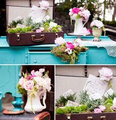 Hostess with the Mostess  Stunning Vintage English Garden Wedding