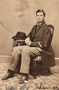 Museum Bought Photo Of Civil War Soldier Who Saw Abraham Lincoln Assassinated-Spencer Bronson figured the gunshot he heard was part of the play Since enlisting in Company B of the Wisconsin 7th...