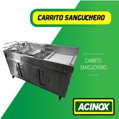Carrito Sanguchero Modelo 5