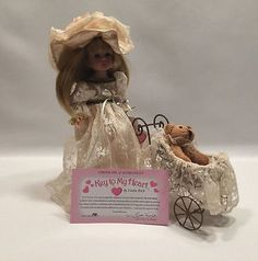 """Key to My Heart To Stroll With Love Doll Linda Rick 9"""" Vinyl  #20167"""