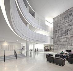 Gallery of University of Toronto Faculty of Law, Jackman Law Building / B+H Architects + Hariri Pontarini Architects - 5 L Office, Genius Loci, Space Architecture, Architecture Interiors, University Of Toronto, Lobbies, Atrium, Beautiful Space, Law