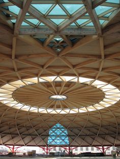 Finnforest Merk's ring beam solution is a bull's eye in Barcelona | Construction News | The Construction Index