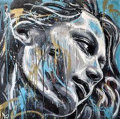 <3 street art David Walker
