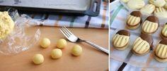 Domáce maslové sušienky máčané v čokoláde: Podobajú sa lineckému, hotové ich máte za pár minút a chutia výborne