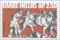 : Gods against the Giants Grece 1972 (Greek Mythology) Greek Mythology, Postage Stamps, Culture, God, Andorra, Posters, Seals, World, Greece