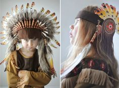 anything can happen, anything can be - MollyMoo - crafts for kids and their parents Indian Costume Kids, Indian Costumes, Cool Costumes, Tiger Lily Costume, Indian Dress Up, Old Fashion Dresses, Peter Pan Costumes, Kids Dress Up, How To Speak French