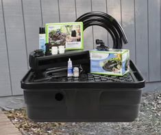 The Aquascape Backyard Waterfall Fountain Kit is an easy option for adding a water feature to your yard. Learn more, find a retailer, buy from a fulfillment partner!