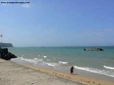 Gold beach Arromanches les bains, Normandy, France... So close to home...