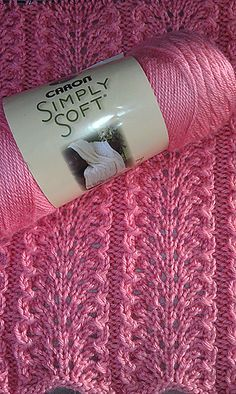 Elegantly Simple Baby Blanket By Jackie Erickson-Schweitzer - Free Knitted Pattern - Value Of Pattern ($6) Not Being Charged At This Time (7-15) - (ravelry)
