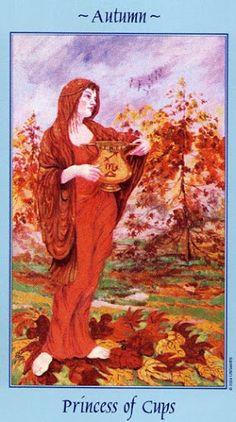 Tin tức Lá Princess of Cups - Celestial Tarot bài tarot Xem thêm tại http://tarot.vn/la-princess-of-cups-celestial-tarot/