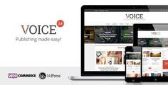 Platform: WP Template Name: Voice – Clean News/Magazine WordPress Theme Author: meks Created: 4 December.