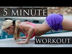 ▶ BodyBomber 5 Minute Workout - YouTube
