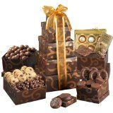Broadway Basketeer Mother's Day Gourmet Chocolate Gift Tower (Grocery)By Broadway Basketeers