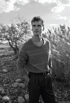 Clement Chabernaud para SummerWinter Magazine Premiere Issue - Male Fashion Trends