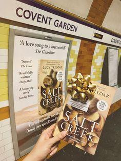 Salt Creek poster in London's Covent Garden tube station Covent Garden, Tube, Salt, News, Poster, Salts, Billboard