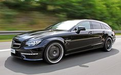 Mercedes-Benz CLS Shooting Brake | 2013 Mercedes-Benz CLS 63 AMG Shooting Brake VATH - Specifications ...