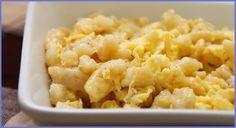 A kopasznyakú tyúk: Gluténmentes nokedli, rizslisztből