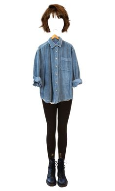 """nbdy mrns th wckd"" by newlydeds ❤ liked on Polyvore featuring Topshop and Dr. Martens"