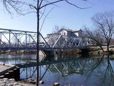 Finley River Bridge in Ozark Missouri.