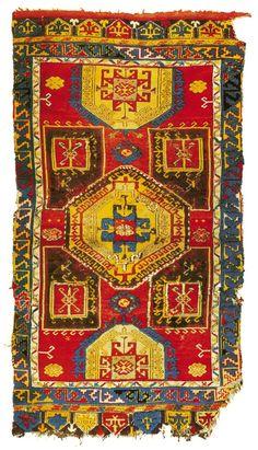 Turkish Konya Rug 18th Century