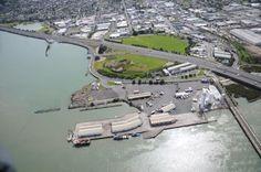 Onehunga Wharf, Manukau Harbour, Auckland, New Zealand
