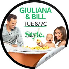 Steffie Doll's Giuliana & Bill: Duking It Out Sticker | GetGlue