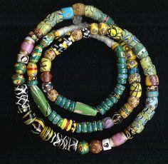 Collector's beads,   cuentas y abalorios