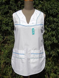 Scrubs, Parka, Overalls, Sewing, Aprons, Womens Fashion, Shirts, Clothes, White Outfits