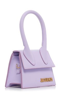 6b90aab1978 Jacquemus | Le Chiquito Leather Bag in Purple - 'Le Chiquito' leather bag is