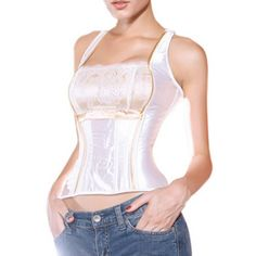 Muka Built-Up Lace Fashion Corset With Shoulder Straps, Gift Idea #Muka