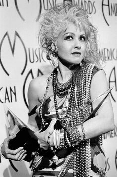 Cyndi Lauper's Style Evolution: From 'True Colors' To All-Black Ensembles (PHOTOS)