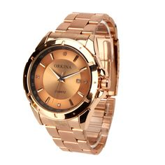 Would you want a watch to decorate your wrist? You should not miss this elegant #BusinessMenWristwatch. It's chic in appearance, fantastic in quality. Vintage color is easy to be paired with your suits, T-shirts. It will make you more confident and noble in many important situations. So, why not get it ?
