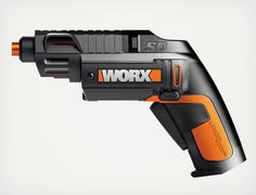 Worx WX254L Semi-Automatic Power Screw Driver | Cool Material (my hubs wants this)