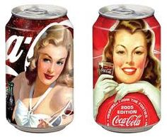 Pin up series by Cenika Coca Cola Can, Always Coca Cola, Coca Cola Bottles, Coke Ad, Pepsi, Pin Up, Vintage Design, Yummy Drinks, Just Desserts