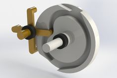 Shock-free high-speed intermittent gearing - STEP / IGES,STL,SOLIDWORKS,Parasolid - 3D CAD model - GrabCAD