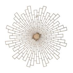 Metal Circular Wall Decor 168434