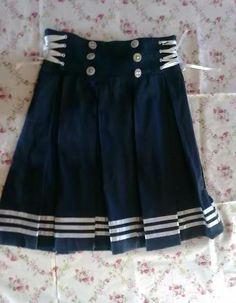 diy sailor skirt