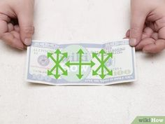 How to Make a Turtle out of a Dollar Bill (with Pictures) Money Origami, 3d Origami, Oragami, Origami Paper, Origami Ideas, Easy Dollar Bill Origami, Perfect Triangles, Origami Turtle, Right Triangle