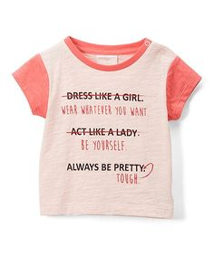 fefdce85d9dd Rosie Pope Baby Coral Wear Whatever you Want Tee - Infant