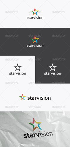Star Vision - Logo Design Template Vector #logotype Download it here: http://graphicriver.net/item/star-vision-logo/2955044?s_rank=822?ref=nexion
