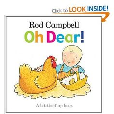 Oh Dear! Another great lift the flap book from the auther of dear zoo. Lots of flaps and chances for children to learn about what animals live on a farm. Oh Dear, Dear Zoo, Best Children Books, Childrens Books, Young Children, Story Sack, Little Library, Book People, Thing 1