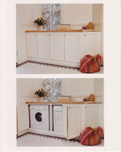 Stacked Washer & Dryer Cabinet Design Ideas, Pictures, Remodel, and Decor - page 6