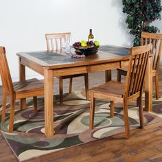 Sunny Designs Sedona 5 Piece Dining Set & Reviews | Wayfair