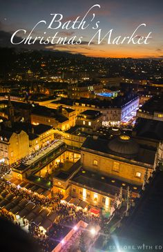 Blog exploring the beautiful city of Bath and famous Christmas Market.
