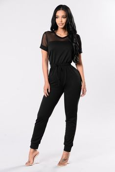 da4fdc558a30 Time And Place Jumpsuit - Black