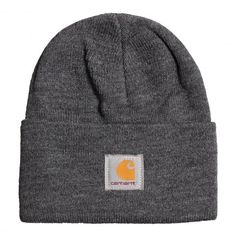 CARHARTT Acrylic Watch Hat dark grey heather bonnet à revert 20,00 € #carhartt #carharttwip #carharttworkinprogress #bonnet #beanie #blackfriday #skate #skateboard #skateboarding #streetshop #skateshop @playskateshop