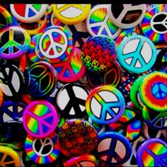 Colorful Proclamations of Peace! Pin it